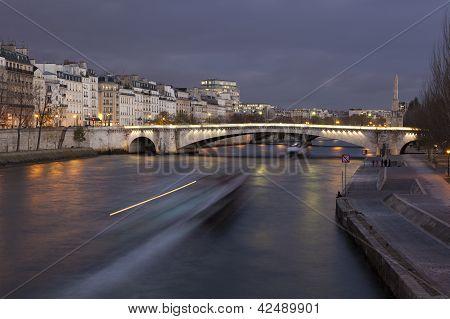 Bridge Of La Tournelle, Paris, France