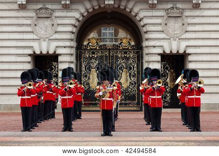 A Royal Guard At Buckingham Palace