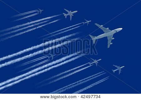 lots of air planes
