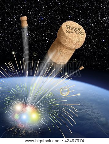 cork in space