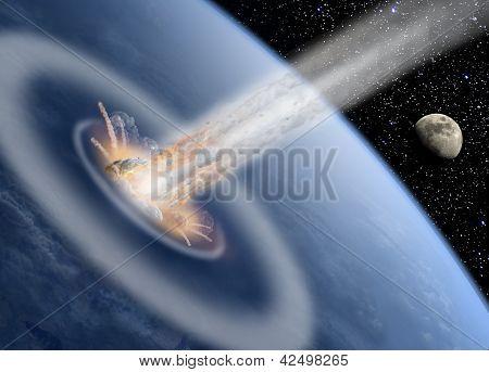 asteroid impact Earth