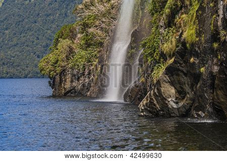 Waterfall Doubtful Sounds