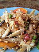 image of testis  - Somtam  is good testy and healthy from Thailand - JPG