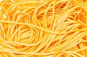 Extreme Close Up Of The Tangled Spaghetti poster