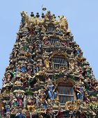 picture of yangon  - Facade of Sri Kali Temple - JPG