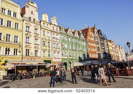 Market Square, Wroclaw