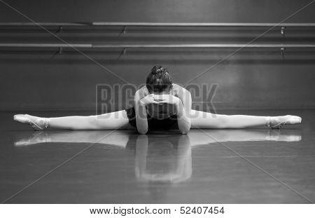 Ballerina Resting