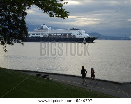 Cruise Ship Vancouver Harbor