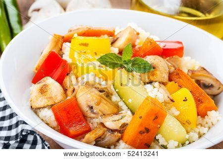 Cous Cous With Veggies