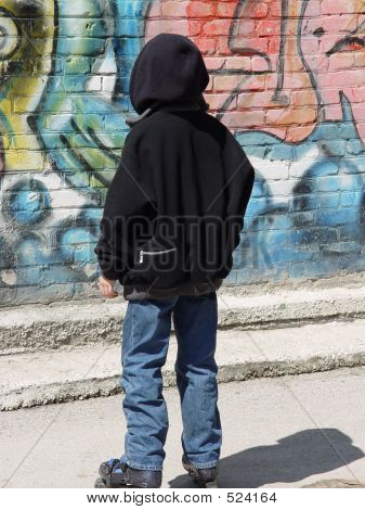The Teenager On Roller Skates