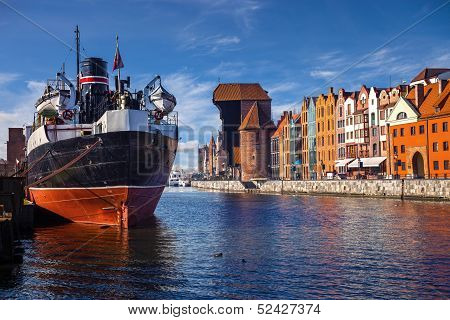 Riverside Of Gdansk