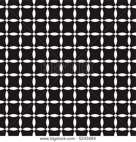 Black-and-white Seamless Pattern.