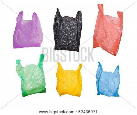 Set Of Various Plastic Bags