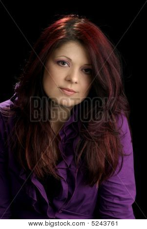 Beautiful Mid Adult Woman