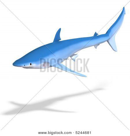 Tubarão azul