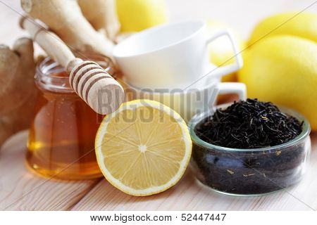 all you need to make ginger tea - tea time
