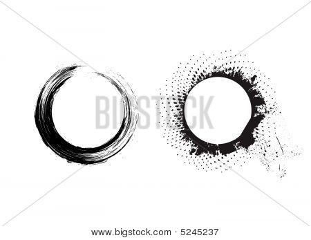Grunge Brushes Line