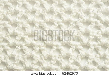 White Crochet Lace