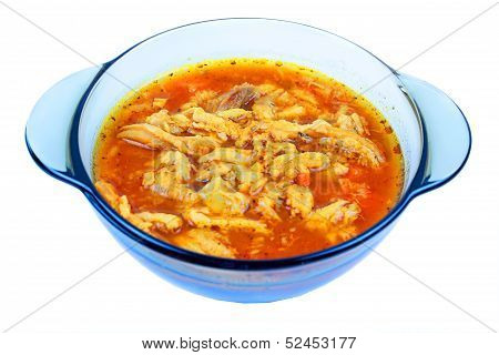 Traditional tripe soup