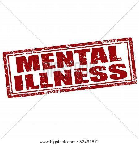 Mental Illness-stamp