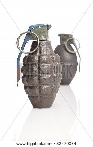 A Pair Of Hand Grenades