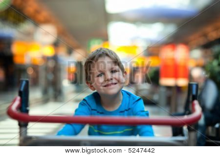 Boy At Airport
