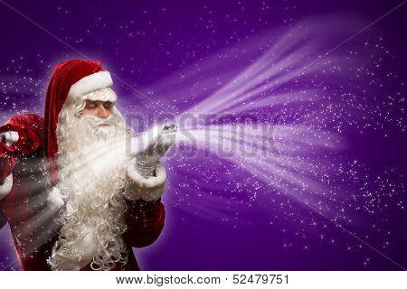 Santa Claus and the magic