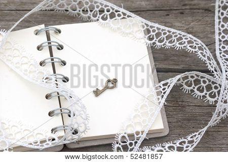 Romantic Retro Notebook
