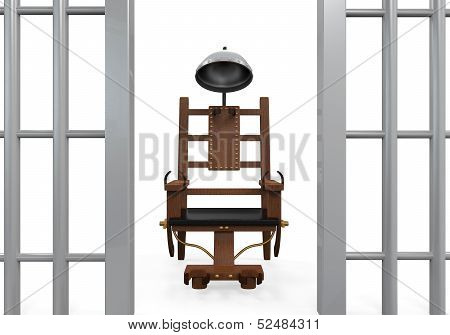 Electric Chair Isolated