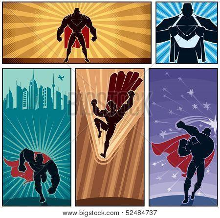 Superhero Banners