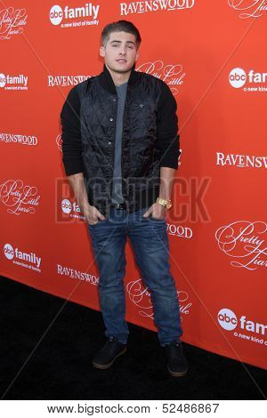 LOS ANGELES - OCT 15:  Cody Christian at the
