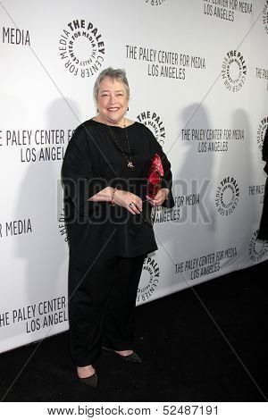 LOS ANGELES - OCT 16:  Kathy Bates at the 2013 Paley Center For Media Benefit Gala at 21st Century Fox Studios Lot on October 16, 2013 in Century City, CA