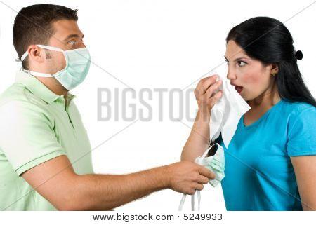 Flu And Paranoia Man