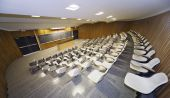 pic of academia  - Interior view of a college lecture hall