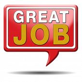 image of job well done  - great job work very well done - JPG