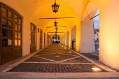 picture of sibiu  - Night view of the Small Square  - JPG