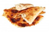 stock photo of tatar  - Tasty chebureks - JPG
