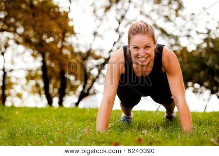 Exercício de flexões