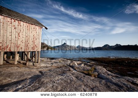 Norway Coast Boat House