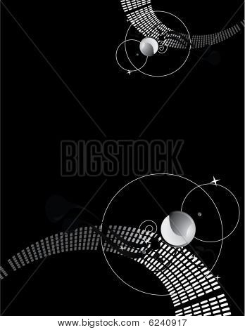 Dark Glam Abstract Background