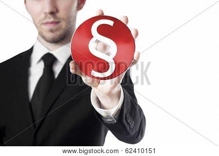 man holding cd