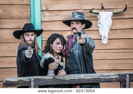 Old West Trio