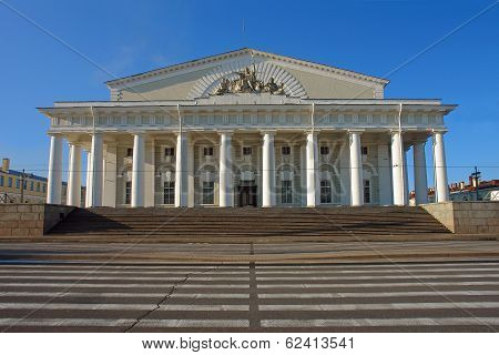 St. Petersburg, Exchange, Vasilevsky Island,