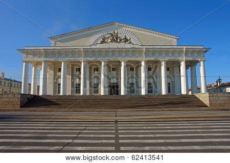 St. Petersburg, Exchange, Vasilevsky Island,