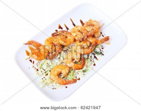 Shrimps Shashlik