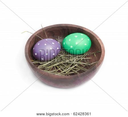 Two Dotted Eggs