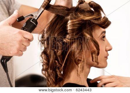 En peluquería
