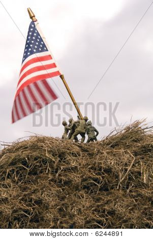 Iwo Jima Re-enactment