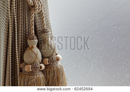 Luxury Curtain And Tassel