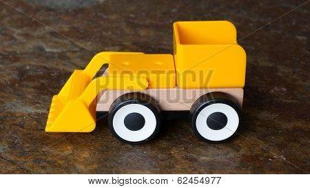 Simple Wheel Dozer Toy